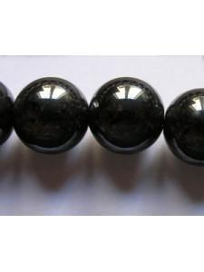 Hematite 12mm Round bead ~34pcs/strand