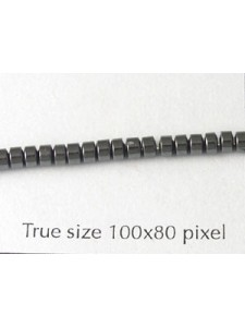 Hematite 3mm Disc Bead