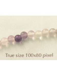 Round Flourite Beads 4mm - EACH