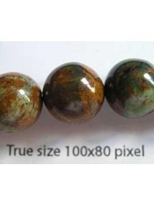 Green Opal 12mm Round 40cm strand