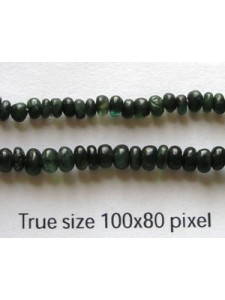 Emerald (Natural) 3x1-4x3mm Rondel 16in