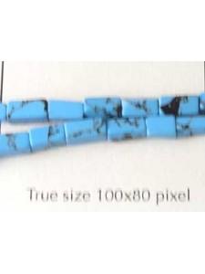 Recon.Turquoise 6x4mm Square 40 cm