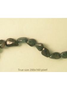 Apatite Dark 13-18mm Tumbled 16in strand