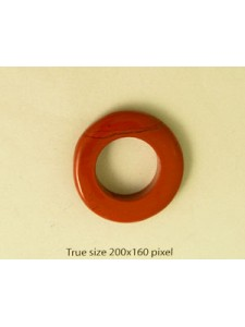 Red Jasper 30mm Donut - EACH