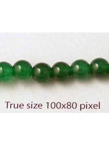 Jade Green (dyed) 6mm 16 inch strand