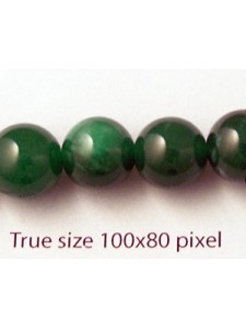 Jade Green (dyed) 10mm 16 inch strand