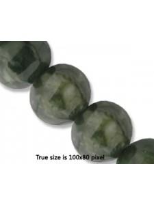 Lantern Bead 12mm Canada Jade 16inch