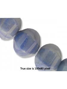 Lantern Bead 14mm Blue Aventurine 16inch