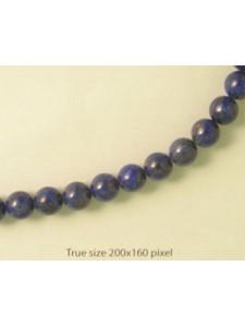 Lapis Lazuli (Dyed) Round 8mm 16inch str