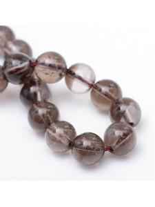 Smoky Quartz Natural Round 6mm ~65 beads