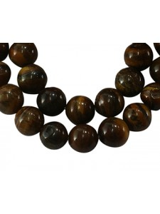Tiger Eye 6mm Round bead MIX 15in strand