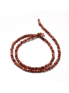 Goldstone Round 8mm ~49 beads