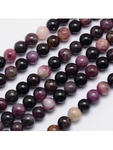 Tourmaline Round 8mm ~49 beads/strand