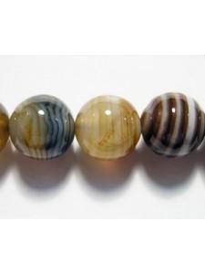 Gemstone Brown Sardonyx Bead 10mm 16in