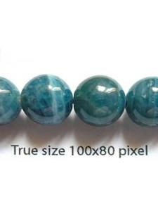 Kyanite Gemstone 10mm Bead 16in strand
