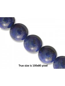 Lapis 10mm Round Bead 16inch