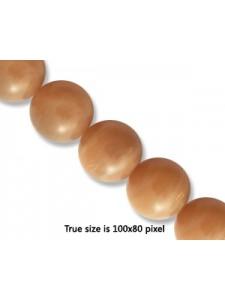 Sunstone 10mm Round Bead 16 Inch