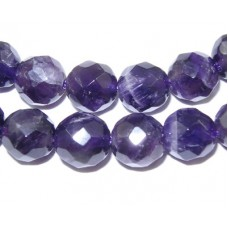 Amethyst 8mm Faceted Bead 15in strand