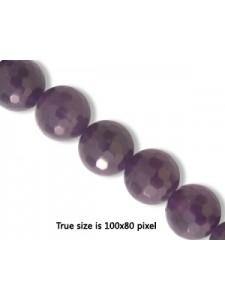 Amethyst 8mm Faceted bead 16inch strand