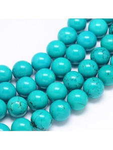 Natural Turqoise Dyed 14mm H:2mm ~28pcs