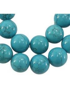 Turquoise -ChalkRound 16mm Round 16inch