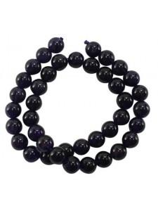 Amethyst 4mm Round Bead 15in strand