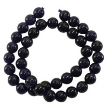 Amethyst 4mm Round Bead 15in strand