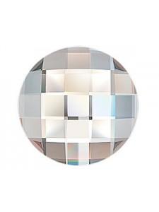Swar Chessborad Circle 20mm Clear F