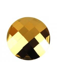 Swar Chessboard Circle 20mm GoldenShadow