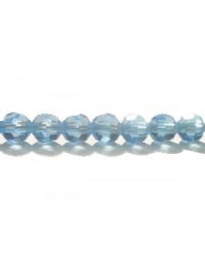 Swar Round Bead 5mm Aquamarine