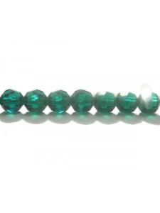Swar Round Bead 5mm Emerald