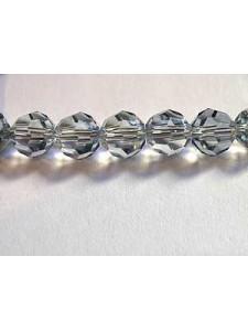 Swar Round Bead 6mm Blue Shade