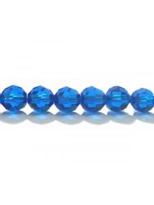 Swar Round Bead 6mm Capri Blue