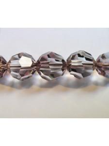 Swar Round Bead 8mm Antique Pink