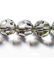 Swar Round Bead 10mm Silvershade