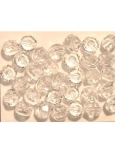 Swar Round Flat Bead 5mm Clear