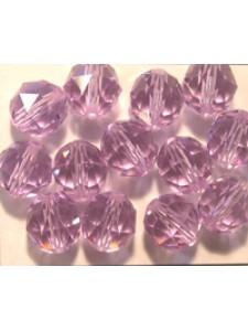 Swar Round Bead 8mm Violet