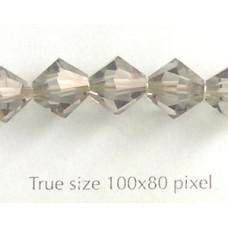 Swar Bi-cone 8mm Black Diamond