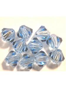 Swar Bi-cone Bead 5mm Aquamarine