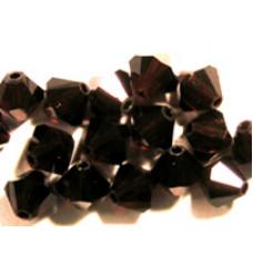 Swar Bi-cone Bead 3mm Garnet