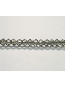 Swar Bi-cone Bead 3mm Black Diamond