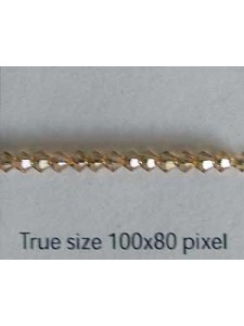 Swar Bi-cone bead 3mm Lt Colorado Topaz
