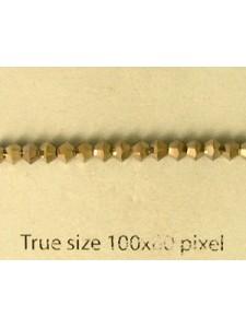 Swar Bicone 3mm Metallic Light Gold 2x