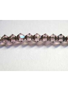 Swar Bi-cone Bead 4mm Antique Pink
