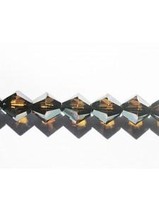 Swar Bi-cone Bead 8mm Bronze Shade 2x