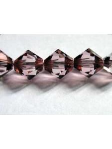 Swar Bi-cone Bead 8mm Antique Pink