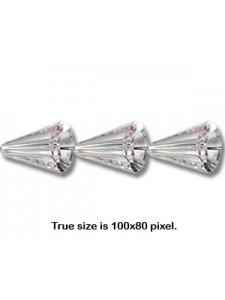 Swar Artemis Bead 12mm Silver Shade