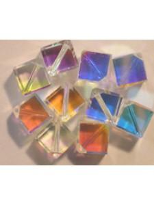 Swar Diagonal Cube 4mm Clear AB