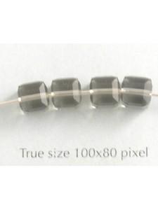 Swar Cube Bead 6mm Black Diamond