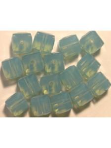 Swar Cube Bead 6mm Pacific Opal